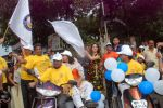 Perizaad Zorabian flags of rally for the cause of cerebral palsy in india on 2nd Oct 2012 (165).JPG