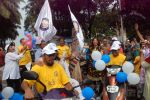 Perizaad Zorabian flags of rally for the cause of cerebral palsy in india on 2nd Oct 2012 (168).JPG