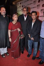 Amitabh Bachchan, Jaya Bachchan, Bedabrata Pain at the Premiere of Chittagong in Mumbai on 3rd Oct 2012 (44).JPG