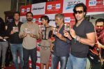 Arjun Rampal, Esha Gupta, Sulaiman Merchant, Prakash Jha, Salim Merchant  at the Audio release of Chakravyuh on 92.7 BIG FM on 3rd oct 2012 (31).JPG