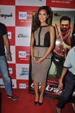 Esha Gupta at the Audio release of Chakravyuh on 92.7 BIG FM on 3rd oct 2012 (59).JPG