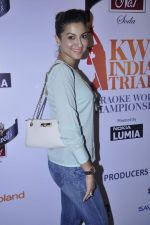 Gauhar Khan at the Grande Finale at Karoke World Championship in Canvas, Palladium on 7th Oct 2012 (81).JPG