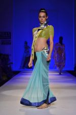 Model walk the ramp for Nida Mahmood Show at Wills Lifestyle India Fashion Week 2012 day 5 on 10th Oct 2012 (61).JPG