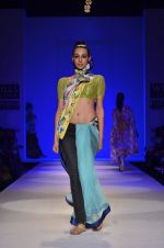 Model walk the ramp for Nida Mahmood Show at Wills Lifestyle India Fashion Week 2012 day 5 on 10th Oct 2012 (60).JPG