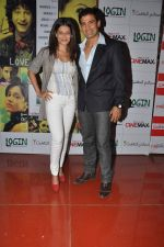Payal Rohatgi, Sangram Singh at the Screening of the film Login in Cinemax, Mumbai on 10th Oct 2012 (7).JPG
