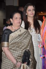 Aishwarya Rai Bachchan, Brinda Rai at Seventy Art show for Big B_s birthday in Mumbai on 11th Oct 2012 (164).JPG