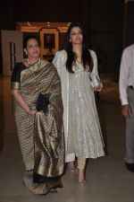 Aishwarya Rai Bachchan, Brinda Rai at Seventy Art show for Big B_s birthday in Mumbai on 11th Oct 2012 (166).JPG