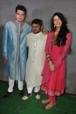Raghuveer Yadav, Sufi Sayyad, Chirag Patil  at the music launch of Le Gaya Saddam in Andheri, Mumbai on 15th Oct 2012 (46).JPG
