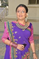 Suchita Trivedi at Star Plus Dandia shoot in Malad, Mumbai on 15th Oct 2012 (73).JPG