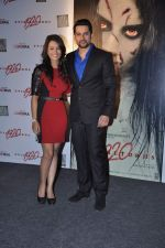 Tia Bajpai, Aftab Shivdasani at the Press conference of 1920 - Evil Returns in Cinemax, Mumbai on 17th Oct 2012 (69).JPG