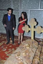 Tia Bajpai, Aftab Shivdasani at the Press conference of 1920 - Evil Returns in Cinemax, Mumbai on 17th Oct 2012 (93).JPG