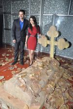 Tia Bajpai, Aftab Shivdasani at the Press conference of 1920 - Evil Returns in Cinemax, Mumbai on 17th Oct 2012 (95).JPG