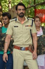 Arjun Rampal at Chakravyuh naxal camp in Mumbai on 18th Oct 2012 (4).JPG