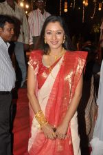 Rupali Ganguly at North Mumbai durga pooja in Juhu, Mumbai on 20th Oct 2012 (14).JPG