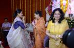 Moushumi Chatterjee, Tina Ambani at North Mumbai durga pooja in Mumbai on 22nd Oct 2012 (34).JPG