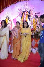 Moushumi Chatterjee, Tina Ambani at North Mumbai durga pooja in Mumbai on 22nd Oct 2012 (46).JPG