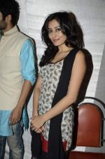 Jackky Bhagnani, Nidhi subbaiah at Ajab Gajab Love promotions in Juhu, Mumbai on 23rd Oct 2012 (45).JPG