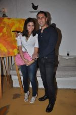 Kiran Janjani at the launch of Rouble Nagi_s exhibition in Olive, Mumbai on 23rd Oct 2012 (85).JPG