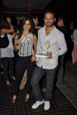 Nikhil Chinapa at Revathy_s Thundergood book launch in Aurus, Mumbai on 25th Oct 2012 (29).JPG