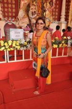 Sneha Paul at DN Nagar durga pooja in Mumbai on 24th Oct 2012 (42).JPG