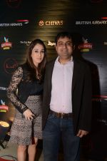 Sushant (Chintu) Chhabra with wife at Day 3 of F1 2012 After Party in LAP on 28th Nov 2012.JPG