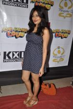 Nidhi Subbaiah at Ajab Gajab Love promotions at NM college in Juhu, Mumbai on 1st Nov 2012 (98).JPG