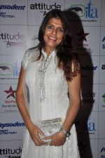 Bhavna Balsaver at ITA Awards red carpet in Mumbai on 4th Nov 2012,1 (28).JPG