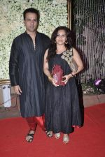 Rohit Roy, Manasi Joshi Roy at Kiran Bawa_s Diwali Bash on 12th Nov 2012 (102).JPG