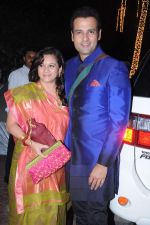 Rohit Roy, Mansi Joshi Roy at Shilpa Shetty_s Diwali bash in Mumbai on 13th Nov 2012 (107).JPG