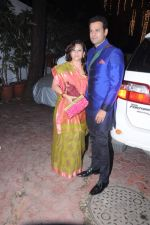 Rohit Roy, Mansi Joshi Roy at Shilpa Shetty_s Diwali bash in Mumbai on 13th Nov 2012 (109).JPG