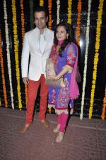 Rohit Roy, Manasi Joshi Roy at Ekta Kapoor_s Diwali bash in Mumbai on 14th Nov 2012 (107).JPG