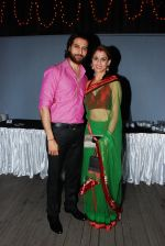 Apporva Agnihotri with Wife at the launch of Sai Deodhar and Shakti Anand_s Production house Thoughtrain Entertainment in Mumbai on 18th Nov 2012.JPG