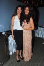 Resham Sheth with friend at the launch of Sai Deodhar and Shakti Anand_s Production house Thoughtrain Entertainment in Mumbai on 18th Nov 2012.JPG