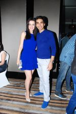 Sanaya Irani and Mohit Sehgal at the launch of Sai Deodhar and Shakti Anand_s Production house Thoughtrain Entertainment in Mumbai on 18th Nov 2012.JPG