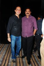 Tushar Dalvi with Adesh Bandekar at the launch of Sai Deodhar and Shakti Anand_s Production house Thoughtrain Entertainment in Mumbai on 18th Nov 2012.JPG