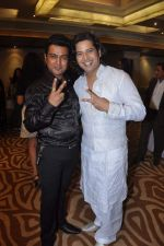 Harish Moyal and Naveen Prabhakar at Harish Moyal wedding anniversary in Mumbai on 21st Nov 2012.jpg