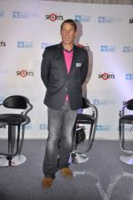 Shane Warne as ESPN presenter in Mumbai on 22nd Nov 2012 (27).JPG