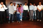 Parag Sanghavi, Ram Gopal Varma with survivors Arun Jadhav, Devika, Mr.Gangwani, Ajit Nalawade, Prashant Das and Mr.Farhan of Leopold Cafe at the first look of The Attacks of 2611 in Nehru Auditorium.jpg