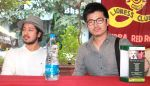 Rajat Barmecha,Actor Udaan and Meiyang Chang at Adoptathon 2012.jpg