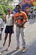 Lisa Haydon, Ranvijay Singh at Red Bull race in Mount Mary on 2nd Dec 2012 (86).JPG