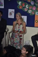 Paris Hilton visits Ashray orphanage in Bandra, Mumbai on 3rd Dec 2012 (14).JPG