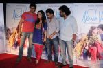Kartik Tiwari, Nushrat Bharucha, Abhishek Pathak, Luv Ranjan at Akashvani film trailer launch in Cinemax, Mumbai on 5th Dec 2012 (56).JPG