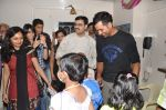 Rohit Sharma meets cancer patients in Parel, Mumbai on 5th Dec 2012 (17).JPG