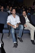 Hrithik Roshan at Whistling woods with Ghai in Filmcity, Mumbai on 7th Dec 2012 (5).JPG