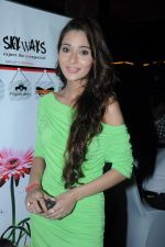 Sara Khan at the launch of Sara Khan_s production House Louise Multimedia Pvt Ltd with the announcement of her film A capsule of love on 8th Dec 2012 (12).JPG