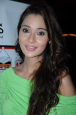 Sara Khan at the launch of Sara Khan_s production House Louise Multimedia Pvt Ltd with the announcement of her film A capsule of love on 8th Dec 2012 (13).JPG