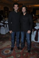 Amaan Ali Khan, Ayaan Ali Khan at Ustad Amjab Ali Khan book launch in ITC Grand Central, Mumbai on 13th Dec 2012 (83).JPG