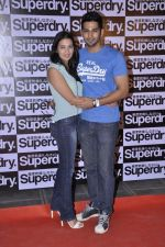 Nikhila Palat, Vivaan Bhathena at the Launch of Superdry in Palladium, Mumbai on 13th Dec 2012 (4).JPG