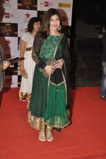 Alka Yagnik at Big Star Awards red carpet in Mumbai on 16th Dec 2012 (130).JPG