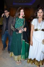 Alka Yagnik at Durga jasraj_s daughter Avani_s wedding reception with Puneet in Mumbai on 16th Dec 2012 (78).JPG